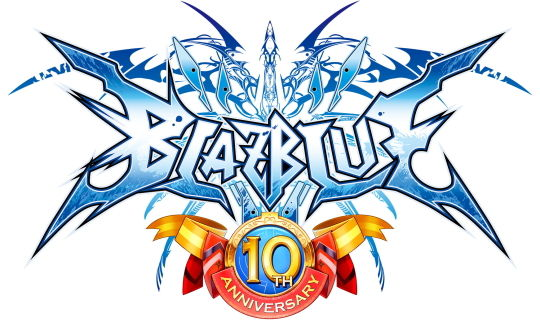 BLAZBLUE 10周年記念ロゴ