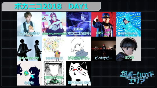 超ボカニコ2018 1日目