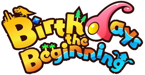 Birthdays the Beginning タイトルロゴ