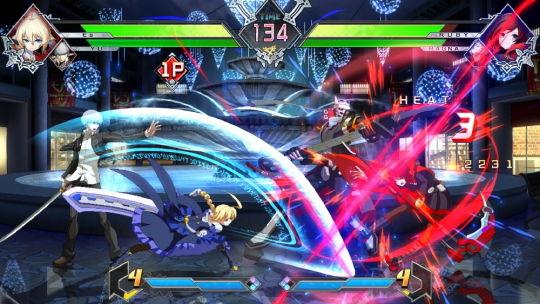 BLAZBLUE CROSS TAG BATTLE ゲームスクリーンショット