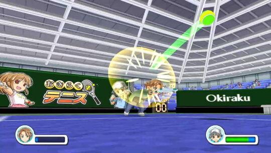 おきらくテニスSP画像2