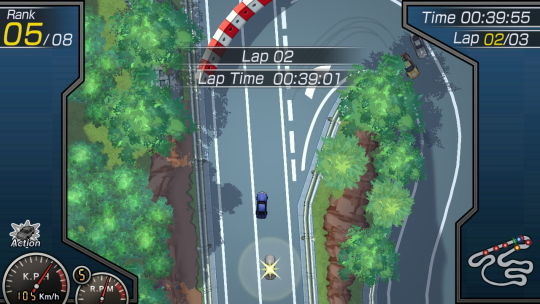 ガチャレーシング2nd ゲーム画像 ゲームモード01