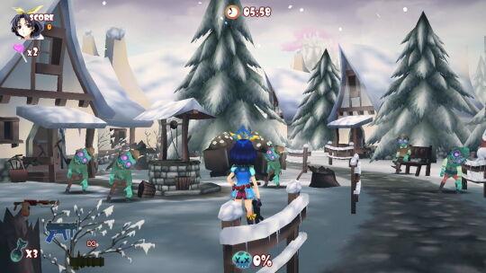 ステージ_白雪の村