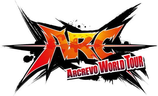 ARCREVO WORLD TOUR ロゴ