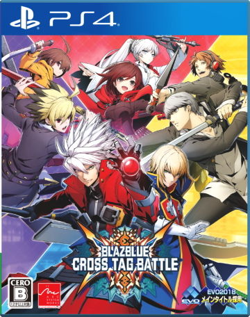 BLAZBLUE CROSS TAG BATTLE パッケージ