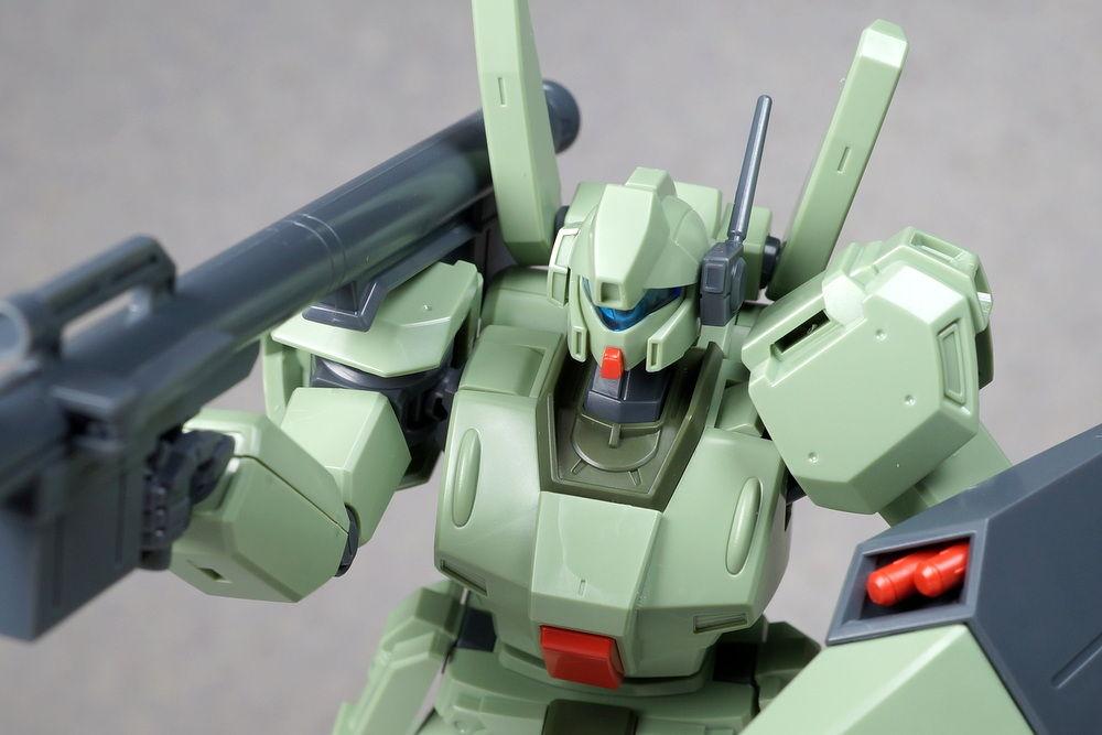こーのーどちゃかてきんL -立体版-  HGUC 1/144 RGM-89D ジェガンD型 製作02 パチ組み完成!