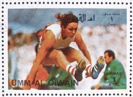 Heide_Rosendahl_1972_Umm_al-Quwain_stamp