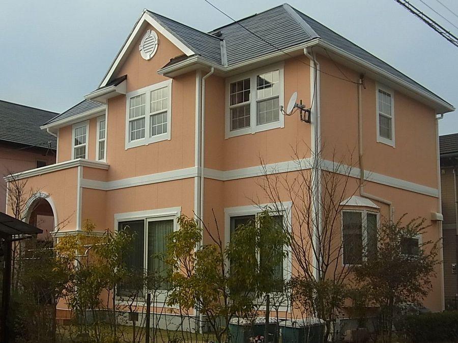 3×10板外壁塗装,カラーベストコロニアル屋根塗装