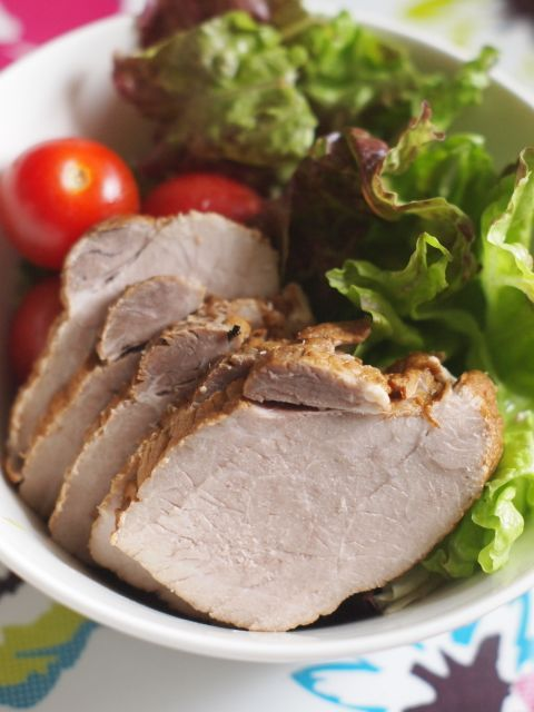 チャーシュー 豚 もも肉 煮豚やローストビーフに!塊肉の縛り方と丸め方による違い(動画有)
