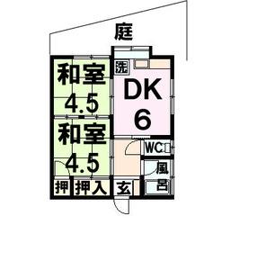 山口アパート103号(丸田郷)文字入り