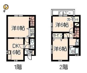 近藤アパート1号室