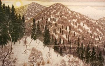 北国四季図(凍朝)