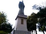 高山右近の像