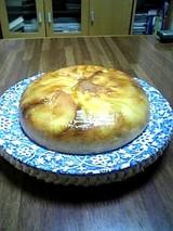 りんごとキャラメルのケーキ