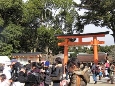 1201上加茂神社初詣正面