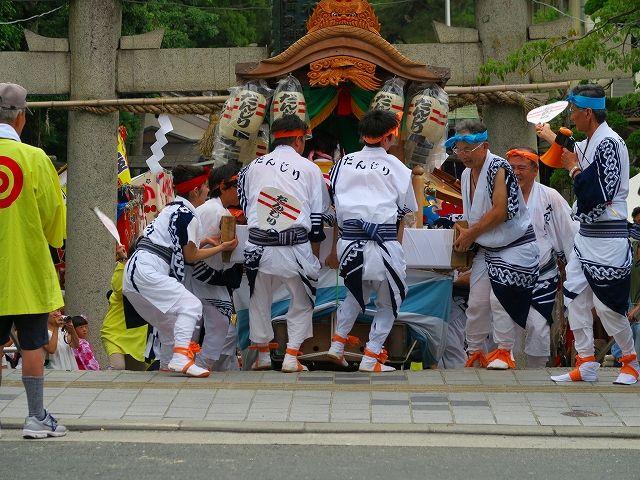 茨木神社石段