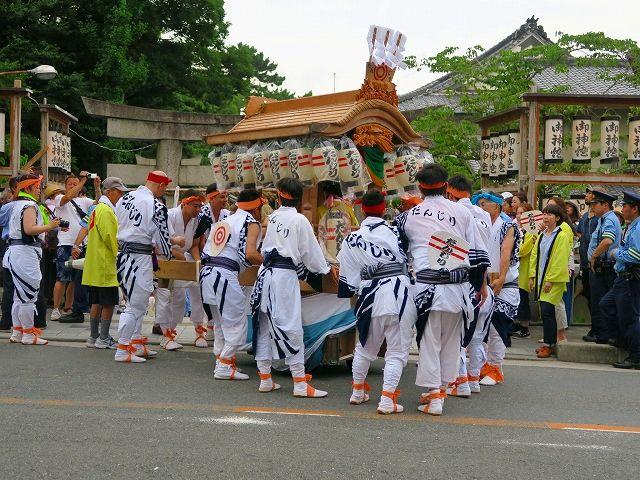茨木神社夏祭り1