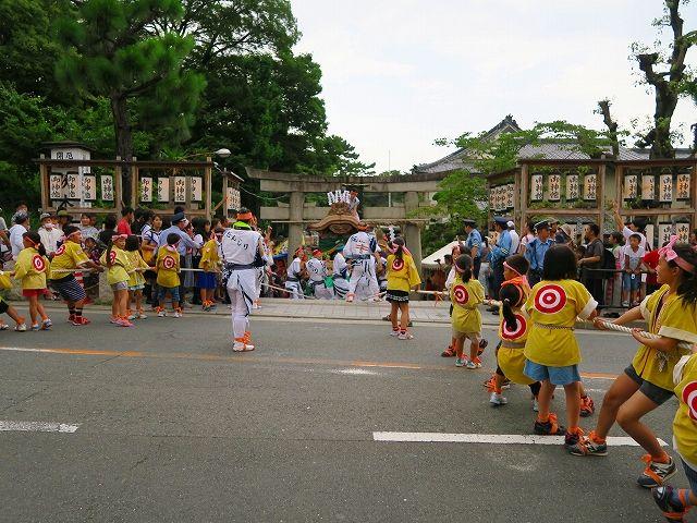 茨木神社引上遠景