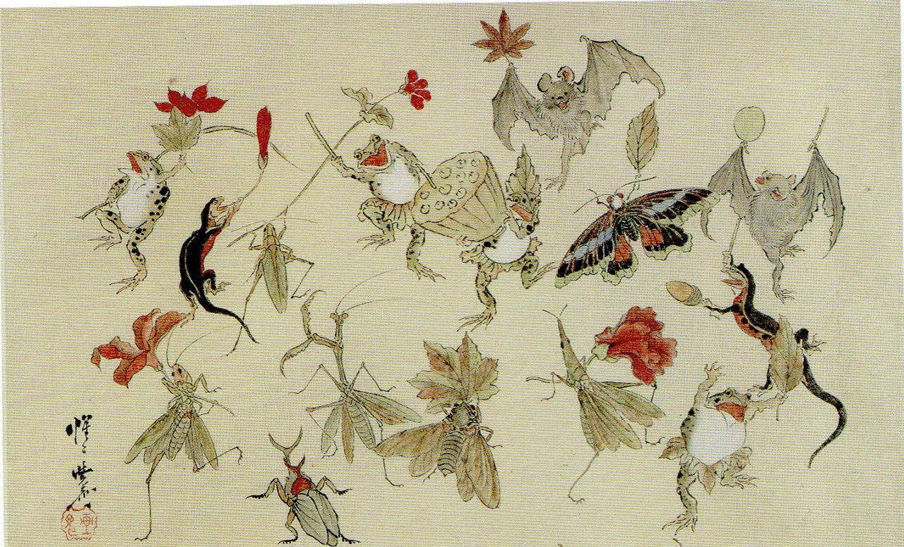 鳥獣戯画85
