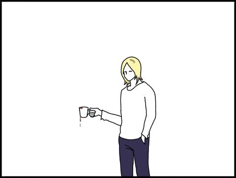 コーヒーこぼすvv