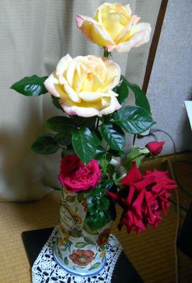 飾りバラ510