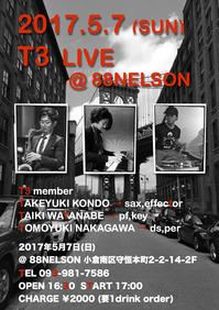 5:7 T3 LIVE