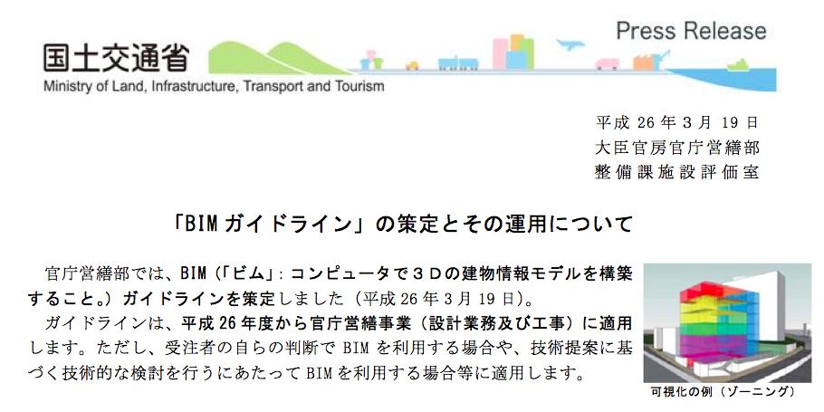 Home3Ddo国土交通省からのBIM/CIMガイドライン                        小原 照記