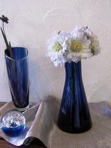 ロイヤルブルー花瓶