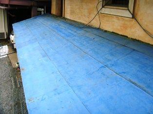 土蔵屋根施工前②
