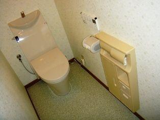 トイレ施工後4