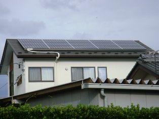 太陽光設置後1