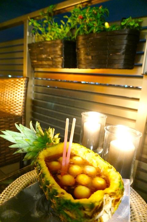 フルーツを楽しみつくす!パイナップル再利用🍍