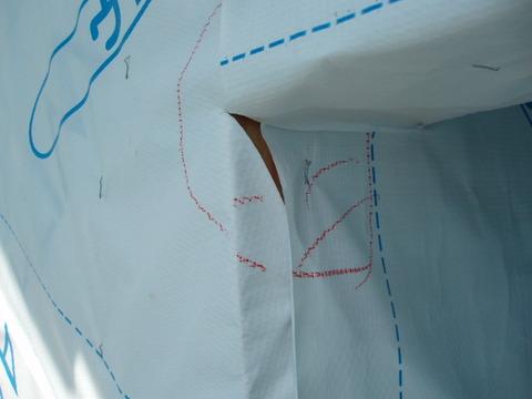 8月10日防水紙折り返し不良①