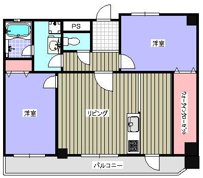 ファミール都島406号室