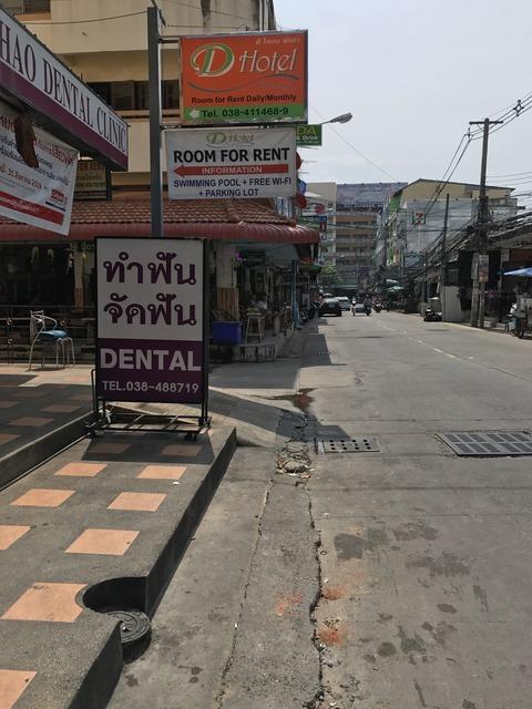 タイ・パタヤのホテル  D ホテル パタヤ (D Hotel Pattaya)を予約・宿泊してみた 静かできれい!3000円台だったらおすすめ