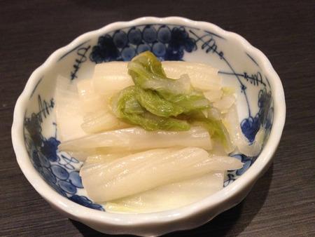 白菜の漬物