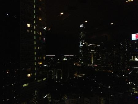 個室からの夜景2