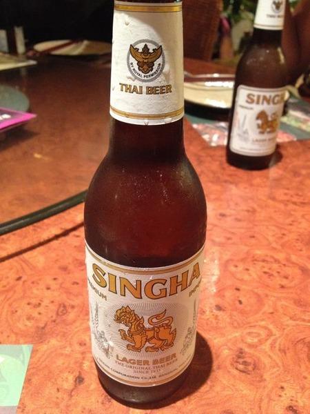 タイのシンハービール