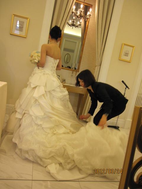 ウrディングドレス