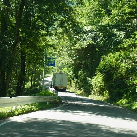 和田峠の道