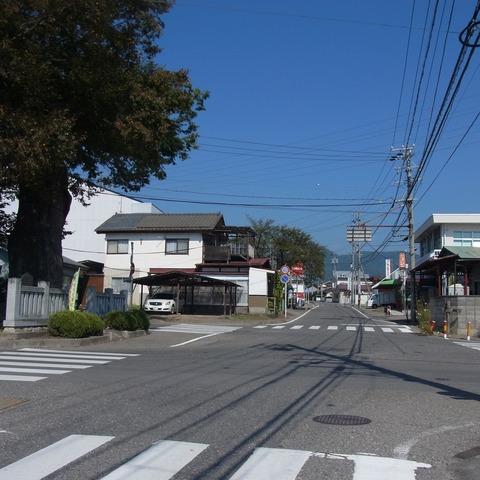 岡田神社入口