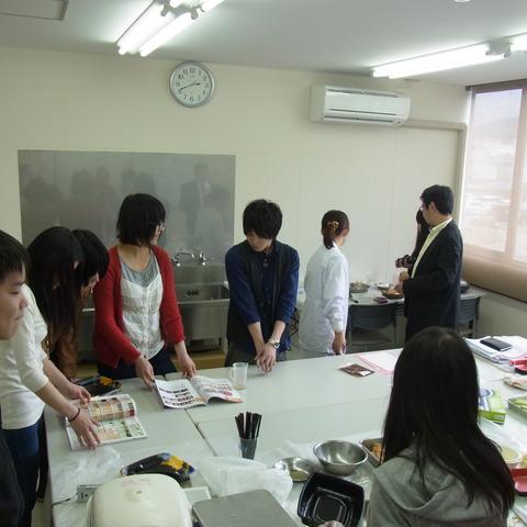 大学生と試作