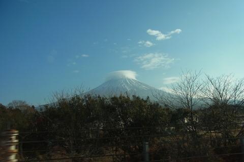 富士山巻雲