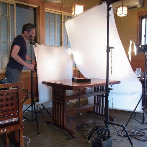 プロの撮影2