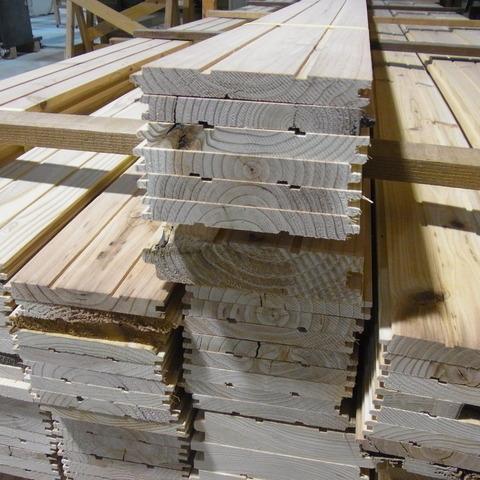 根羽杉板材