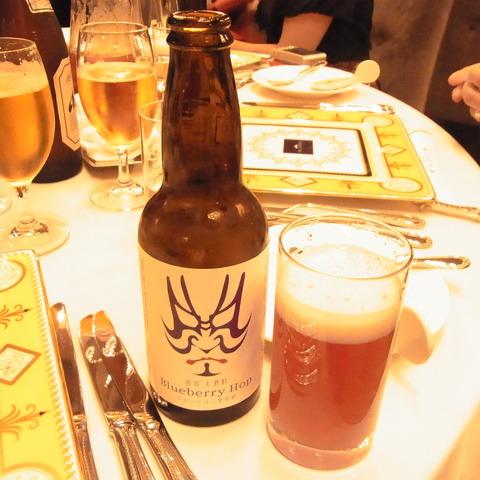 ブルーベリービール