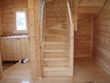 階段と玄関