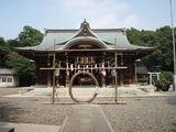 姉崎神社拝殿