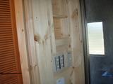 バス入口造作棚