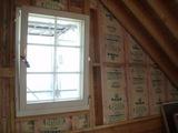 DK窓と断熱材貼付け